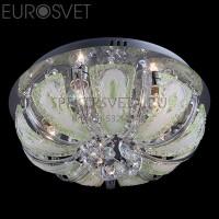 Потолочный светильник 5597/5 хром/зеленый+синий+голубой Eurosvet
