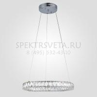 Светодиодный подвесной светильник Грация 90023/1 хром Eurosvet