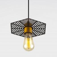 Подвесной светильник Creto 50167/1 бронза/черный Eurosvet