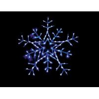 Световая фигура Снежинка 26702 LT004 белый+синий 4,8W контроллер Feron