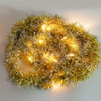 "Гирлянда ""мишура золотистая"" 20 LED, 2м Feron"