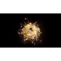Светодиодная гирлянда занавес 32326 CL18 1,5*1,5м эффект стробов 2700К теплый белый Feron