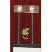 Настольная лампа декоративная NOTTE DI LUNA GRLSF-1304-02 Lussole