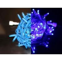 Гирлянда нить (10 м) свет фиолетовый постоянный провод фиолетовый RL-S10C-24V-RV/V RichLED