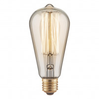 Лампа Эдисона ST64 60W Elektrostandard