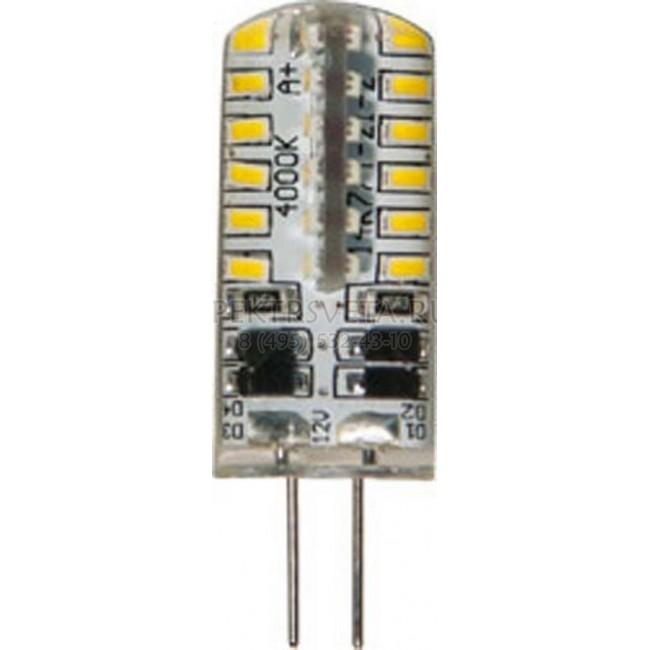 Лампа светодиодная 25531 48LED (3W) 12V G4 2700K Feron