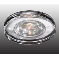 Встраиваемый влагозащищенный светильник Aqua 369883 Novotech