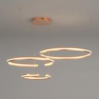 Подвесная светодиодная люстра Gap 90180/3 золото 160W Eurosvet