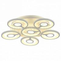Светодиодная потолочная люстра с пультом Roundels 2292-6U F-promo