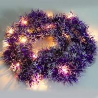 "Гирлянда ""мишура фиолетовая"" 20 LED, 2м Feron"