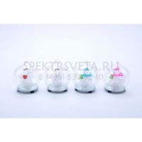 Комплект из 12 снеговиков световых (9 см) X-mas 23212-12 GLOBO