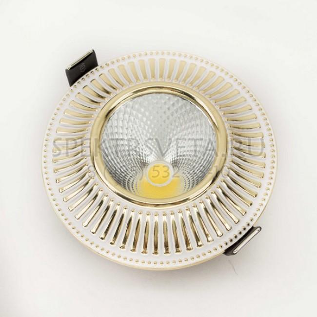Встраиваемый точечный светильник Дзета CLD042W2 CITILUX