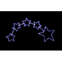 Световая фигура Звезда 26708 LT010 белый+синий 28,8W контроллер Feron
