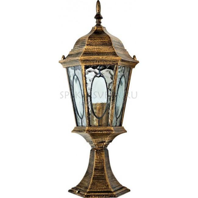 Наземный низкий светильник Витраж с овалом 11330 Feron