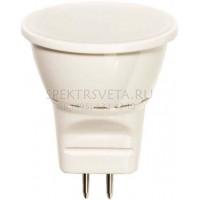 Лампа светодиодная 25552 6LED(3W) 230V G5.3 4000K Feron