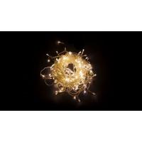 Светодиодная гирлянда занавес 32328 CL19 2*1,5м статичное свечение 2700К теплый белый Feron