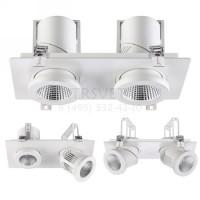 Встраиваемый светодиодный светильник PROMETA 357874 Novotech