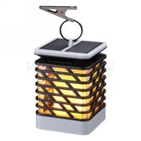 Уличный светильник на солнечной батарее с эффектом пламени FUOCO 357990 Novotech