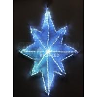 Снежинка световая (0.4 м) RL-ST60-W RichLED