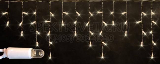 Бахрома световая (3x0.5 м) RL-i3*0.5-CW/W RichLED