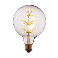 Лампа светодиодная филаментная E27 3W прозрачная G12547LED Loft IT