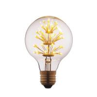 Лампа светодиодная филаментная E27 3W прозрачная G8047LED Loft IT