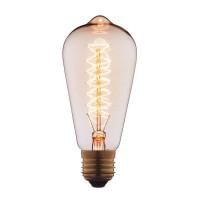 Лампа накаливания E27 60W прозрачная 6460-CT Loft IT