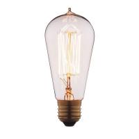 Лампа накаливания E27 60W прозрачная 6460-SC Loft IT