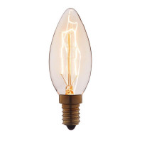 Лампа накаливания E14 25W прозрачная 3525 Loft IT