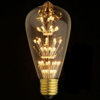 Лампа светодиодная филаментная E27 3W прозрачная ST64-47LED Loft IT