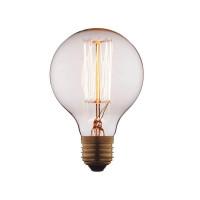 Лампа накаливания E27 40W прозрачная G8040 Loft IT