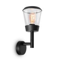 Уличный настенный светильник Maytoni Faro O039WL-01B