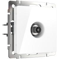 ТВ-розетка оконечная (белая) WL01-TV Werkel