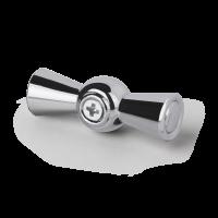 Ручка выключателя 2 шт. (хром) Ретро WL18-20-01 Werkel