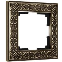 Рамка на 1 пост (бронза) WL07-Frame-01 Werkel
