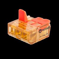 Клемма универсальная соединительная 3-проводная (5 шт.) TR-02-03 Werkel