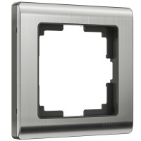 Рамка на 1 пост (глянцевый никель) WL02-Frame-01 Werkel