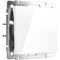 Выключатель одноклавишный проходной (белый) WL01-SW-1G-2W Werkel