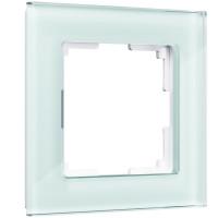 Рамка на 1 пост (натуральное стекло) WL01-Frame-01 Werkel