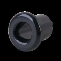 Втулка для вывода кабеля из стены 2 шт.(черный) Ретро WL18-18-01 Werkel