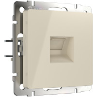 Розетка Ethernet RJ-45 (слоновая кость) WL03-RJ-45-ivory Werkel